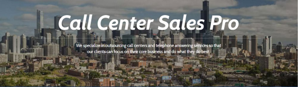 Call Center Sales Pro can be your customers' first point of contact over the phone, freeing up your time and staff to run your business.