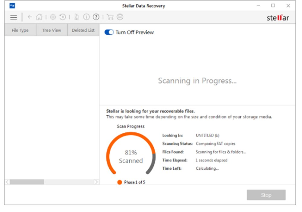 Stellar Review   Data Recovery Software Reviews
