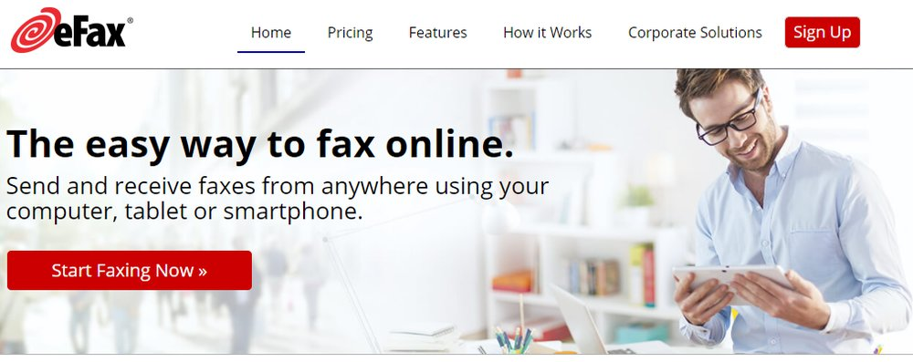 eFax lets you easily send faxes from any internet-connected device, whether you're at your desk or on the go.