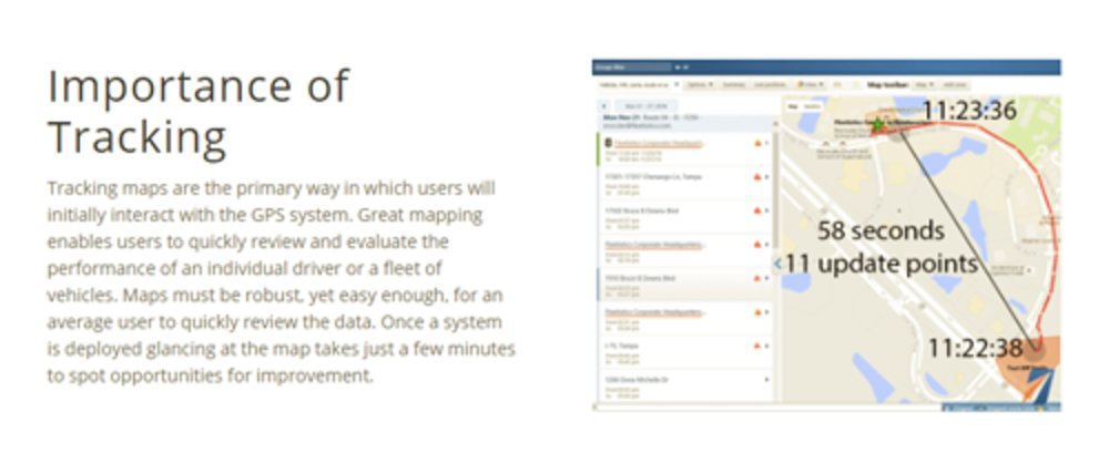Fleetistics allows users to set geofences and track vehicles. The map view provides a good overview for fleet managers, allowing users to stay up-to-date quickly and efficiently.