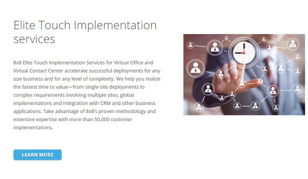 8x8 is one of the top business phone systems options for small businesses.