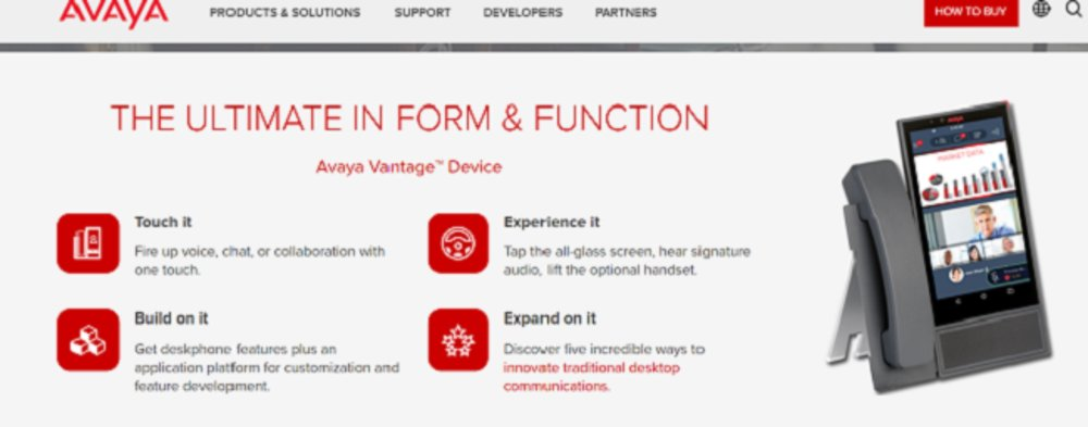 Despite having hundreds of features, Avaya's phone system isn't complicated to use or understand.
