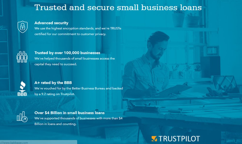 Kabbage has provided over $4 billion worth of loans to small businesses.