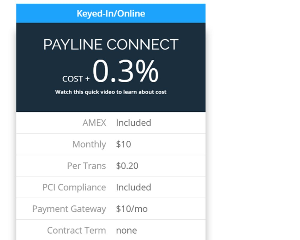 The online pricing plan allows you to avoid a monthly statement fee, but there is a monthly gateway fee as well as a gateway-per-transaction fee.