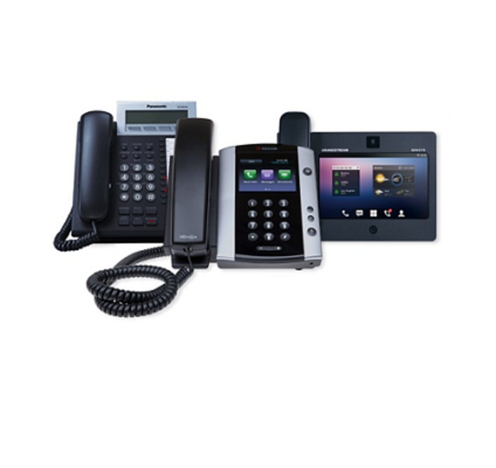 OnSIP offers various desk phone options.