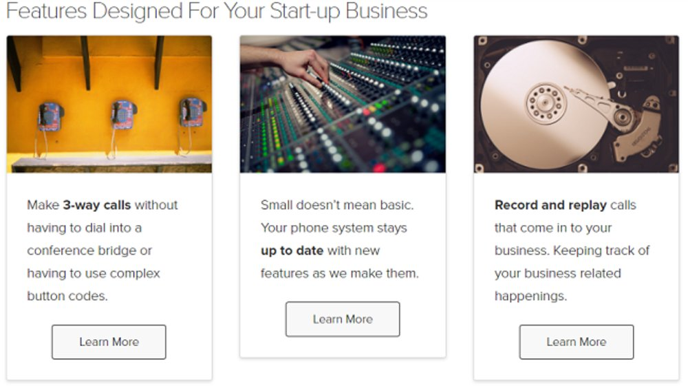 FluentStream designs features with small businesses in mind.