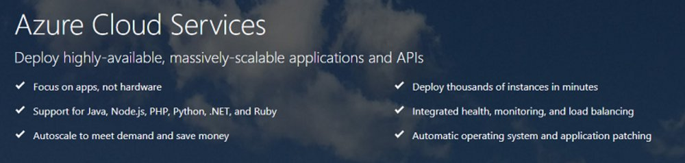 Microsoft Azure provides a wide spectrum of cloud computing services. Its PaaS provides developers with the ability to deploy and scale applications without the hassle of managing infrastructure.
