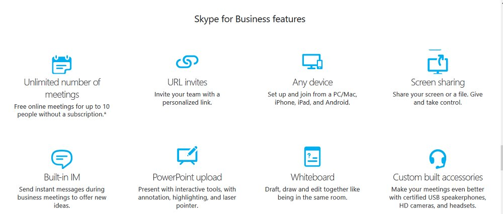 Skype for Business Review 2018 | Video Conferencing Service