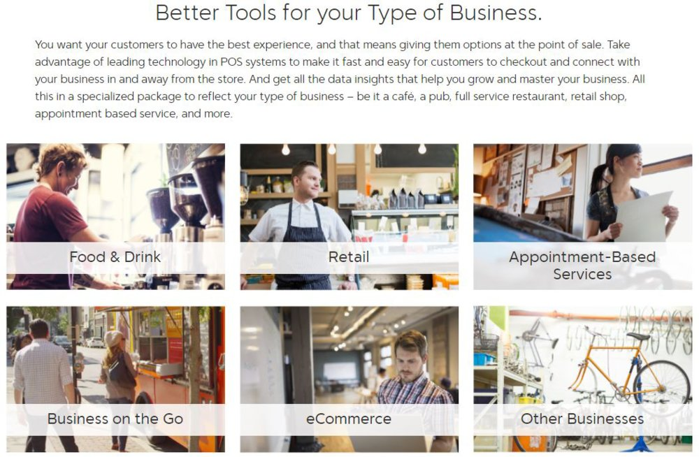 In addition to retailers, First Data also provides credit card processing services to restaurants, services and other business types.