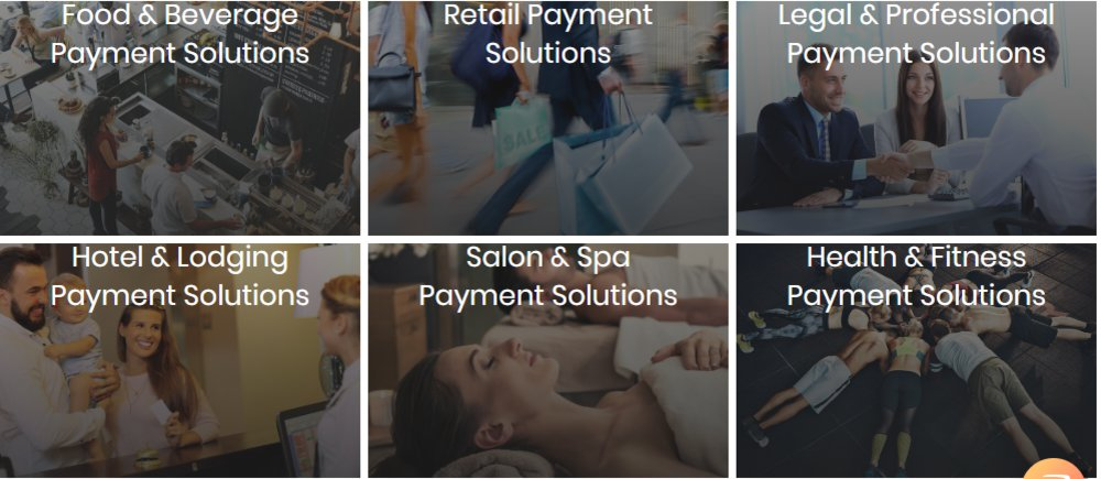 This merchant service works with businesses in many different industries.