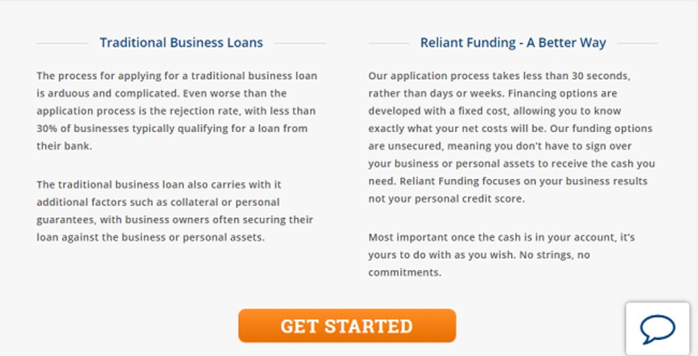 Reliant Funding Review 2018 Business Loan And Financing
