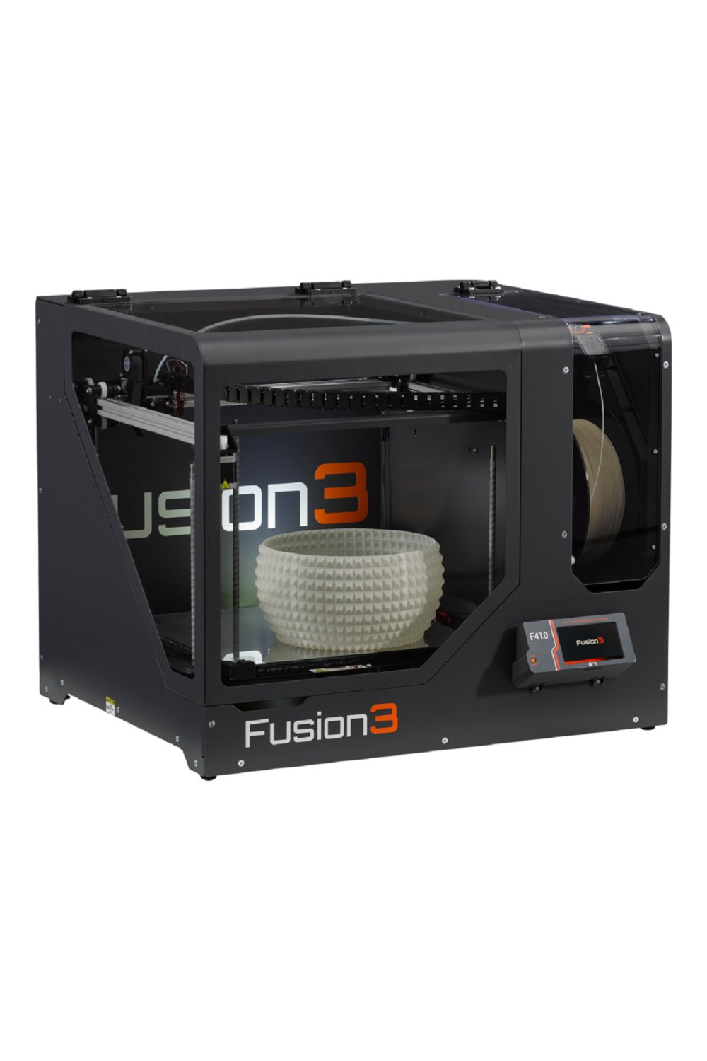 This printer offers competitive printing speeds of 250 mm per second.