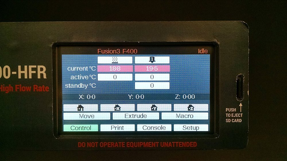 The 4.7-inch color touchscreen makes it easy to monitor and control print jobs.