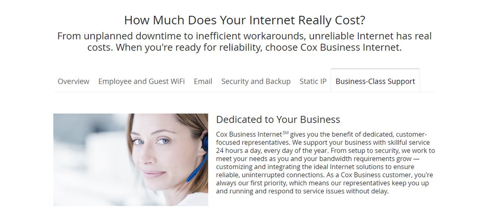 Cox Business Review 2018 | Internet Service Provider Reviews
