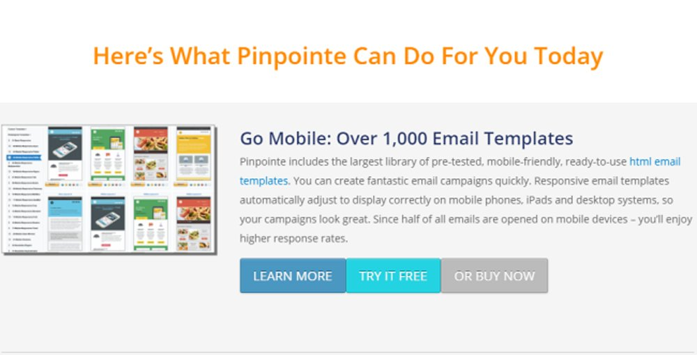 Pinpointe's Enterprise features make it a phenomenal option for large businesses.