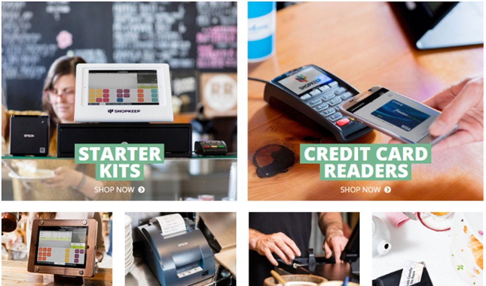 You can purchase POS hardware from ShopKeep, but if you already own equipment, you should check with the company to see if it's compatible so you can continue using it.