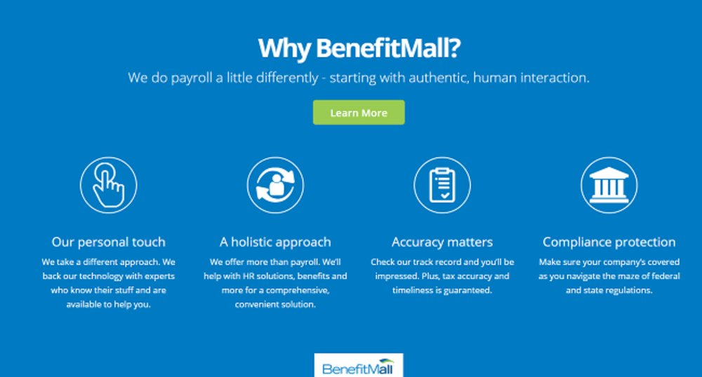 BenefitMall believes its customer service options and human touch separate it from competitors.