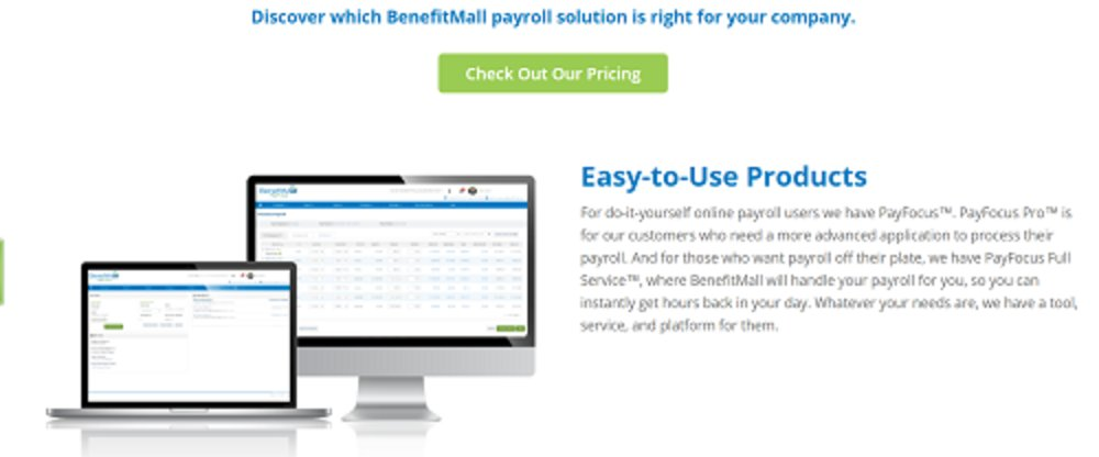 BenefitMall has an intuitive interface to make it easier to use.