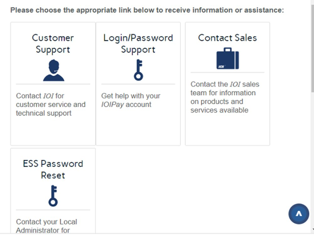 Customer service options are readily available on the company's website.