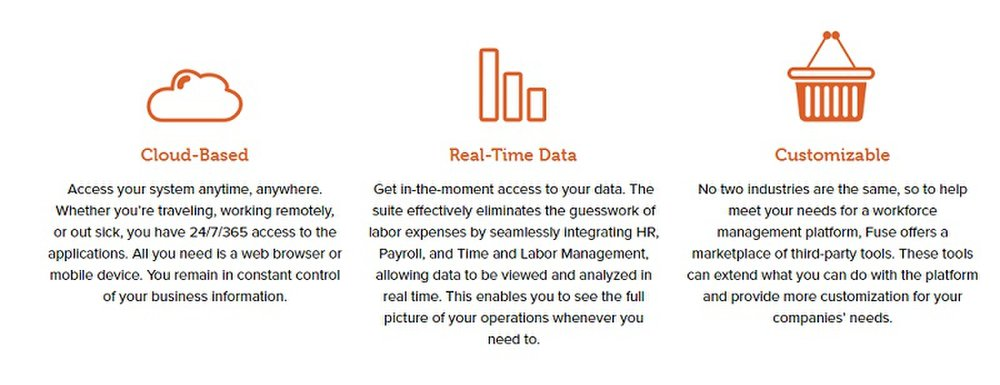 You can access your real-time payroll data from any web browser or mobile device.