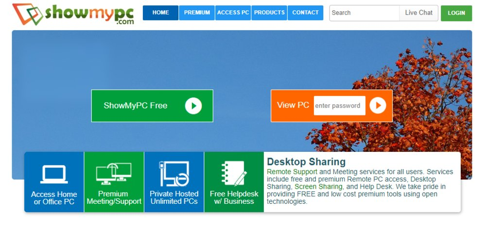 ShowMyPC offers a 30-day, money-back guarantee. There are no contracts; you can cancel or change your account at any time.