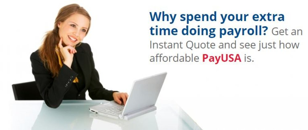 You'll need to contact PayUSA for your exact pricing. For a company with 20 employees paid biweekly, we were quoted a price of around $75 a month. There are some additional fees to consider.