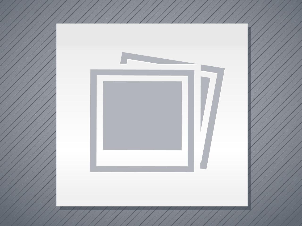 Image of keyboard with social media logos on keys.