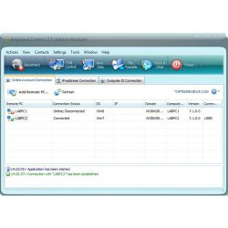 Anyplace Control's dashboard makes it easy to manage remote desktops.