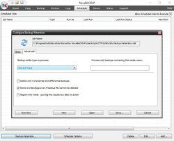 The backup retention configurator allows you to manage your backup storage effectively and automatically.