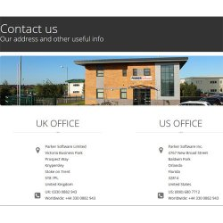 WhosOn image: Offices are located in the U.S. and the U.K.