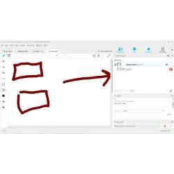 Cisco Webex image: The platform has several presentation tools, including a whiteboard.