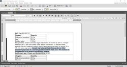OmniPage image: You can either export a scan or use the in-program word processor to edit documents.