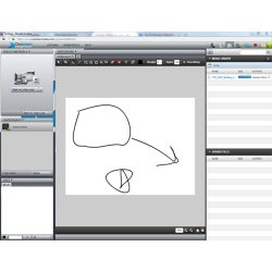 Onstream Meetings image: You can use the whiteboard to add further detail to your presentation.