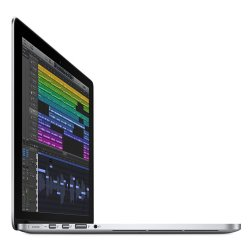 Apple MacBook Pro 15 image: With an Intel Core i7 processor and your choice of Intel Iris Pro Graphics or an AMD Radeon R9 M370X discrete graphics card, the MacBook Pro 15 is well-suited to demanding business software.