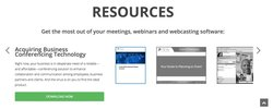 Your conference calling account dashboard is available on the service's website.