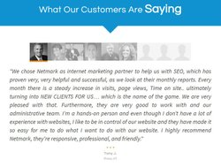 You can find testimonials online.