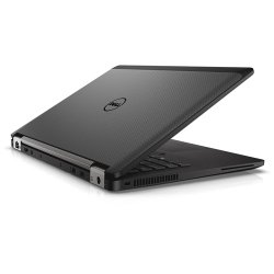 Dell Latitude 14 image: The Latitude 14 7000 Series includes some of the premium touches found on more expensive systems like a carbon fiber chassis with magnesium-alloy reinforcement.