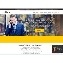 Callbox image: This service can launch your lead generation campaign in as little as two weeks.