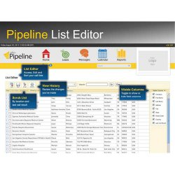 Callbox image: Pipeline organizes your leads, which you can search using filters with specific criteria.