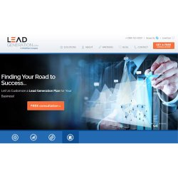 LeadGeneration.com image: This service creates a plan based on your company's size, industry and marketing goals.