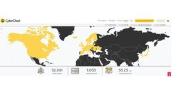 CyberGhost has over 1,000 servers located throughout the world.