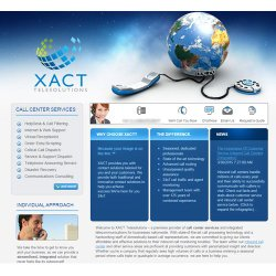 Xact Telesolutions offers many services, including a virtual receptionist, plus order entry and web support.