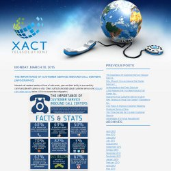 You can read the Xact Telesolutions blog for more information on call centers.