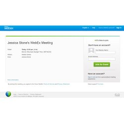 Cisco WebEx image: You can customize the registration invitations.