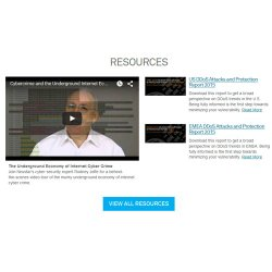 Neustar SiteProtect image: The company website offers several resources, including videos, blogs and more.