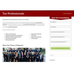 US Tax Shield image: There are tax attorneys and enrolled agents available on staff to help you with your tax problems.