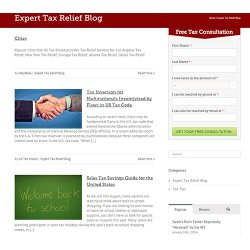 US Tax Shield image: US Tax Shield has a tax relief blog to offer you articles with more information on tax debt relief.