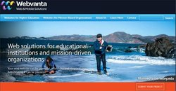 Webvanta image: This web design company specializes in website design for educational and mission-based businesses and organizations.