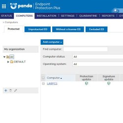 Panda Endpoint Protection Plus image: You can add computers to the network and keep track with visual checkmarks which devices are up-to-date.