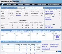 MRI Software image: You can receive alerts through this property management software for service requests, leads and other items.